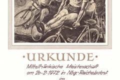 Urkunde-6er-Einrad-1972-Reichelsdorf
